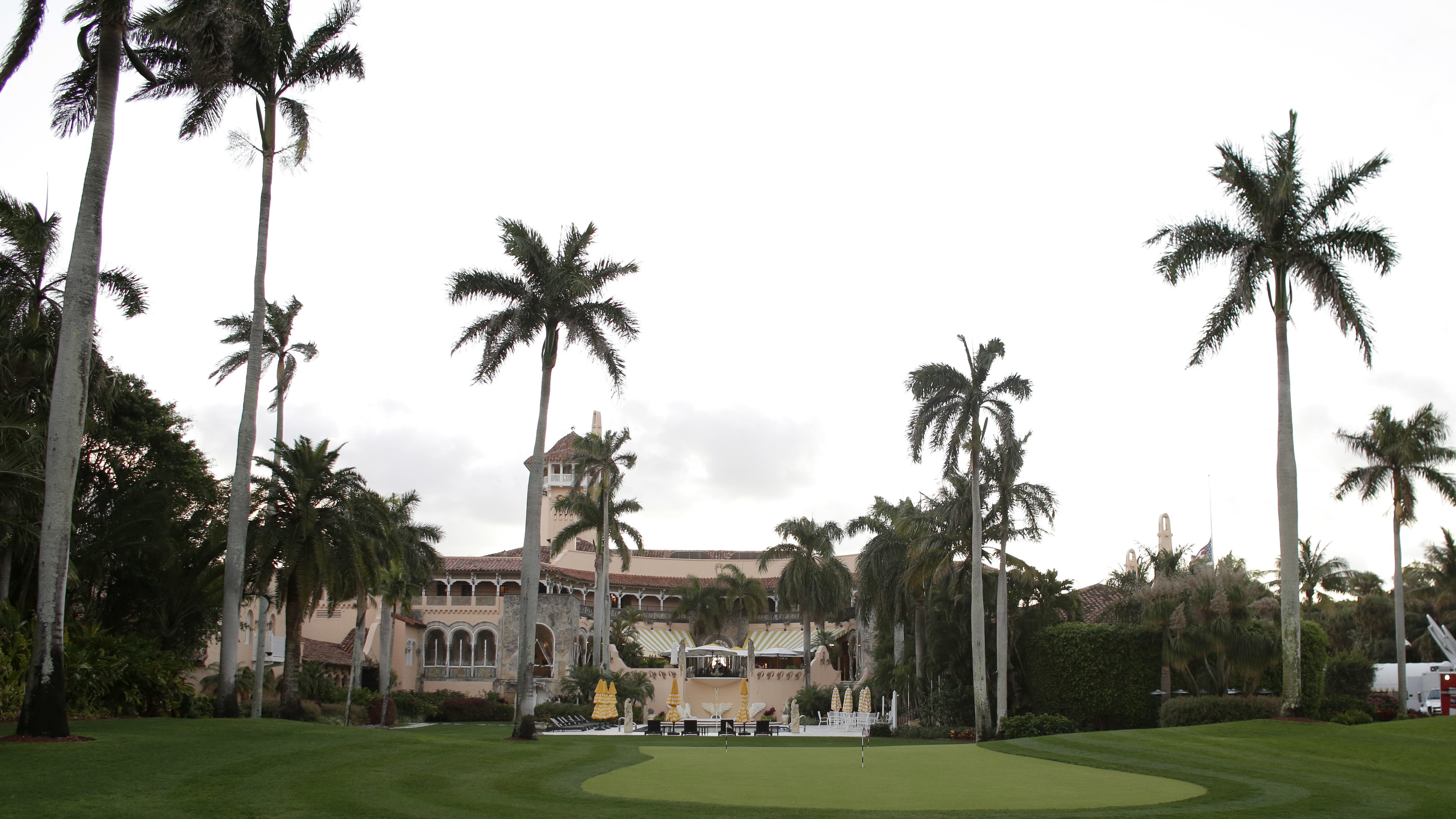 This March 11, 2016, file photo, shows the Mar-a-Lago Club, owned by President Donald Trump, in Palm Beach, Fla.