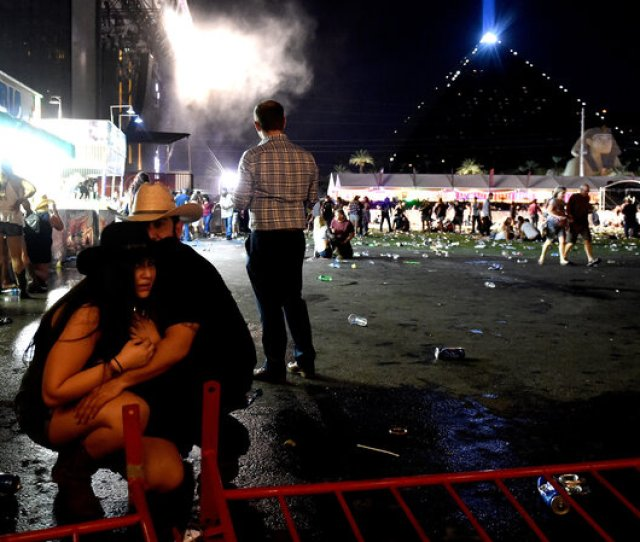 Las Vegas Shooting Update At Least  People Are Dead After Gunman Attacks Concert
