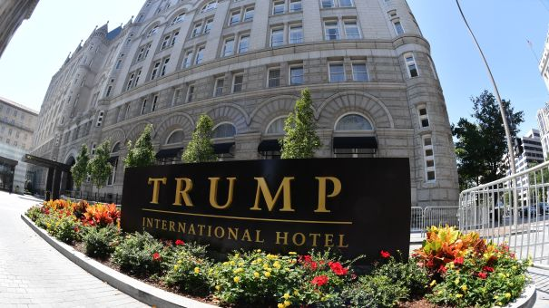 A lawsuit against President Trump alleges he is violating the Foreign and Domestic Emoluments clauses of the Constitution. Plaintiffs