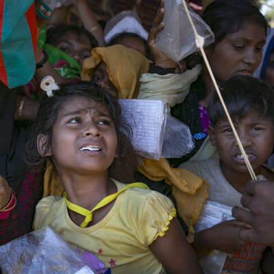 At Least 6,700 Myanmar Rohingya Killed In Single Month, Aid Group Says