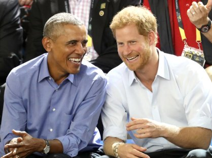 When Harry Met Barack: Obama Tells Prince About Life After White ...