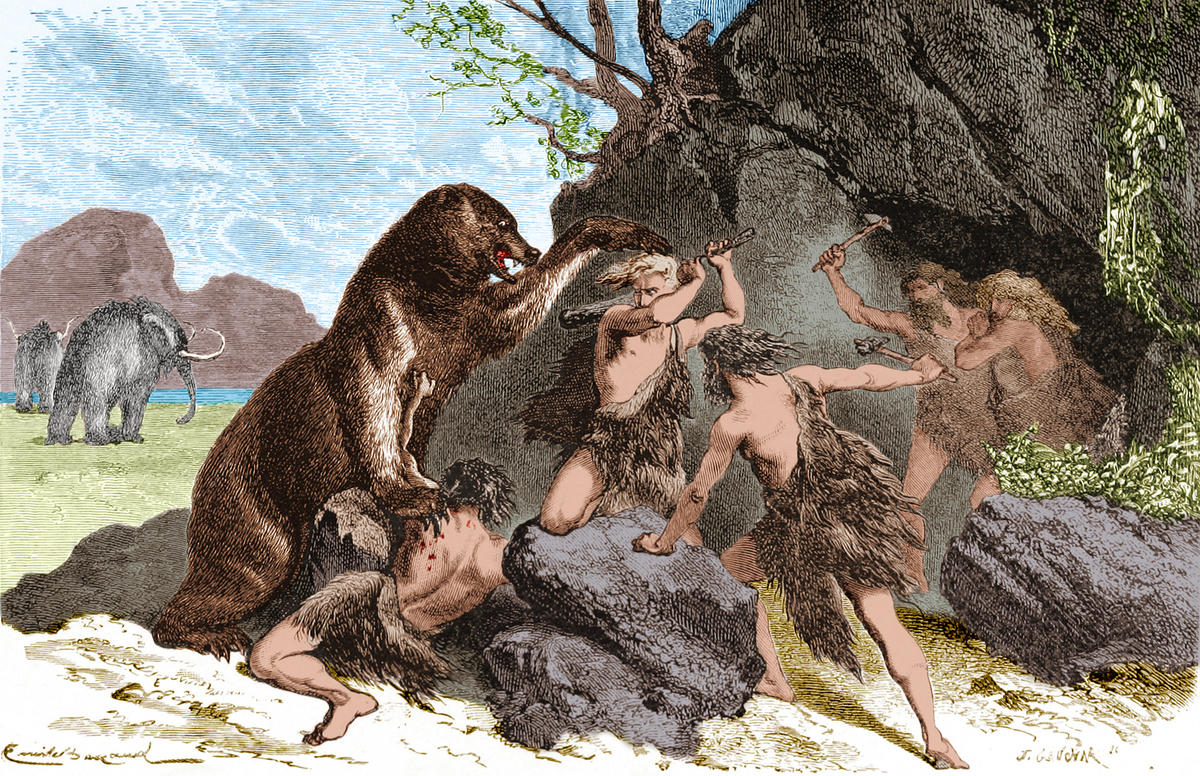 New Study Says Ancient Humans Hunted Big Mammals To Extinction The Two Way Npr