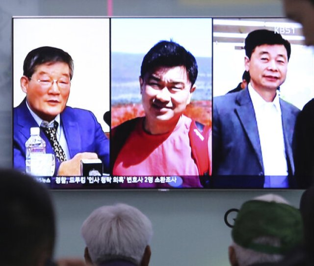 North Korea Releases 3 Americans As Pompeos Visit Concludes The Two Way Npr