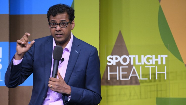 In his new job overseeing health coverage for 1.2 million workers and their families, Atul Gawande says he hopes to find specific ways to make health care more efficient and the solutions exportable.