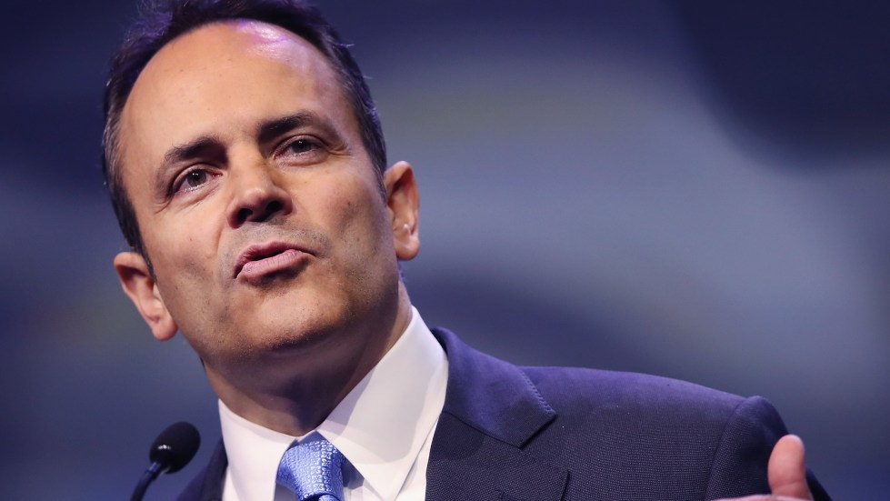 Kentucky Gov. Matt Bevin is trying to add work requirements to the state