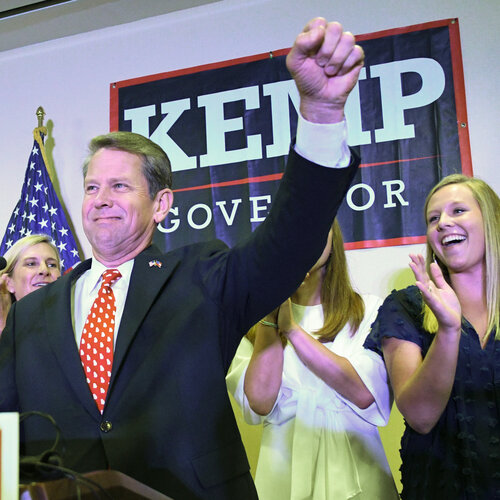 Trump-Endorsed Brian Kemp Easily Wins GOP Runoff For Georgia Governor