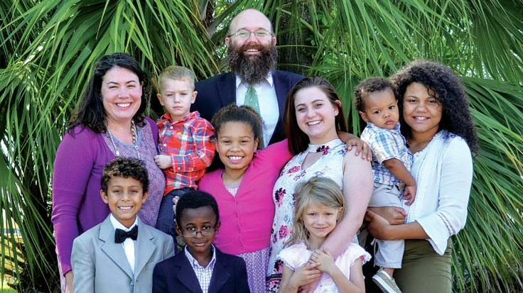 """We would not be able to foster without Medicaid,"" says Sherri Croom of Tallahassee, Fla. Croom and her husband, Thomas, have fostered 27 children in the past decade. They"