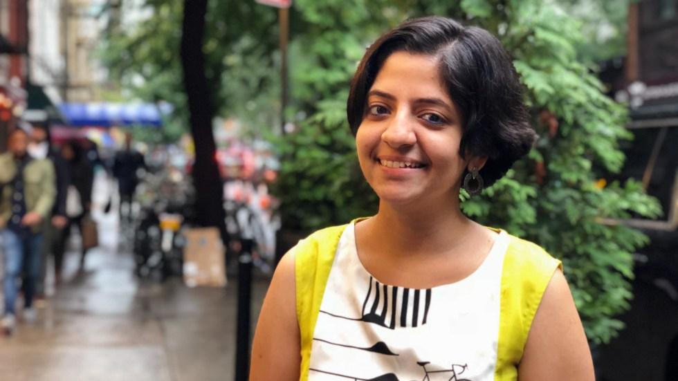 Nandita Venkatesan, a TB survivor, spoke at the U.N.