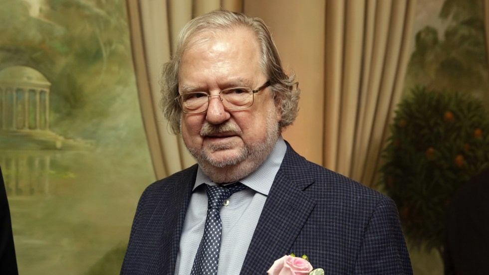 Dr. James P. Allison, University of Texas MD Anderson Cancer Center, poses for a photo in New York in 2015. Allison and Tasuku Honjo have jointly been awarded the Nobel Prize in medicine or physiology.
