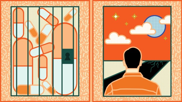 On re-entering society, formerly incarcerated people struggle to get health care and treatment for HIV.