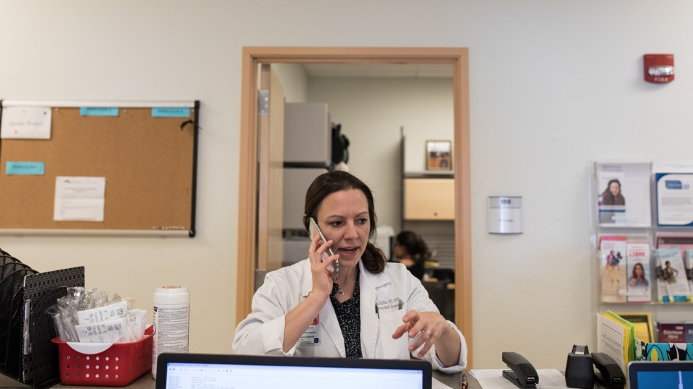 Dr. Lisa Hofler runs a University of New Mexico clinic that stocks mifepristone but doesn