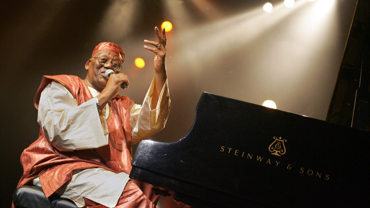 Randy Weston performs in France in 2005.