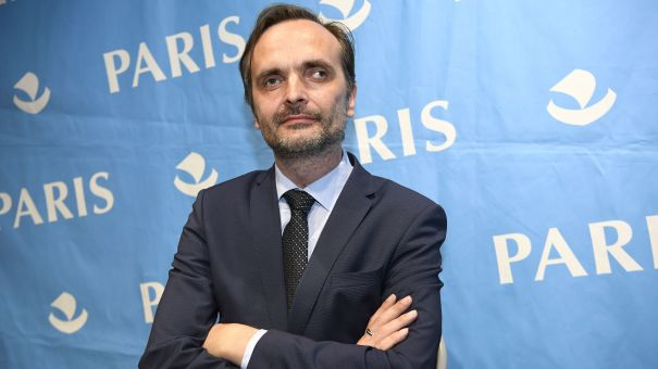 Igor Kochetkov, the head of the Russian LGBT Network, in Paris in 2017.