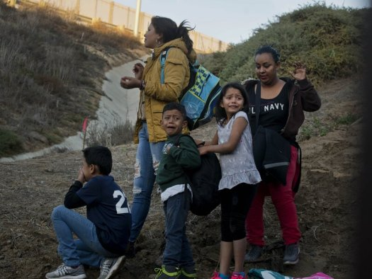 Image result for southern border children Images from the Migrant Crisis