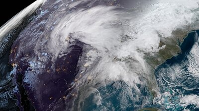 A 'Bomb Cyclone' Is Thwacking The Central U.S.