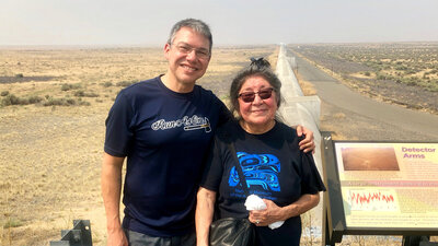 How A Cosmic Collision Sparked A Native American Translator's Labor Of Love
