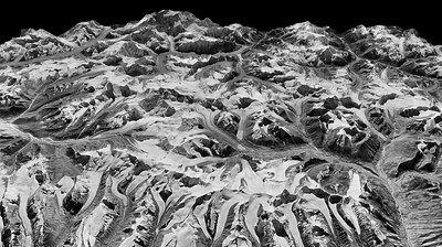 I Spy, Via Spy Satellite: Melting Himalayan Glaciers