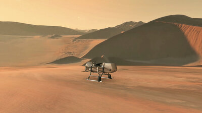 NASA Will Send A Drone To Buzz Around Saturn's Largest Moon