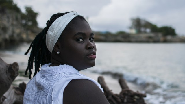 Cuban vocalist Daymé Arocena is featured on a new solo album with the all-female Cuban jazz band Maqueque.