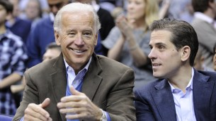 Image result for Hunter & Joe Biden
