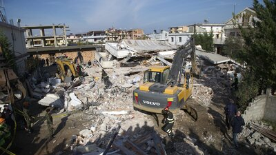'Everything We Have Is Destroyed': Albania Mourns After Deadly Earthquake