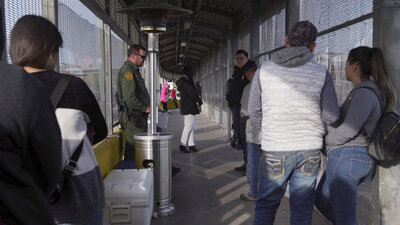 CBP Says Enforcement Actions At U.S.-Mexico Border Down For 7th Straight Month