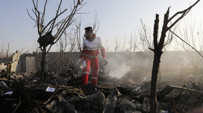 Iran Says It Shot Down Ukrainian Jetliner By Mistake