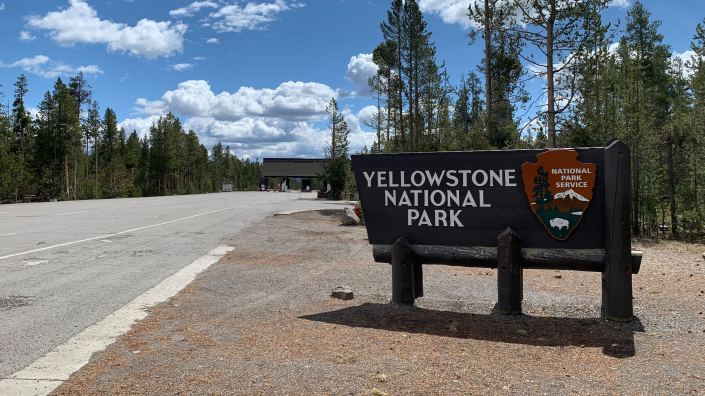 Yellowstone National Park begins a phased reopening Monday, with the park