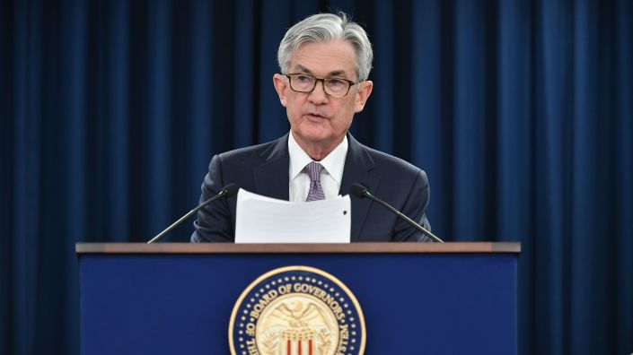 Federal Reserve Chairman Jerome Powell says while the coronavirus is likely to cause Depression-era levels of unemployment, the economy should recover faster than it did in the 1930s.
