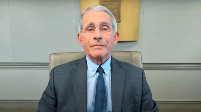 Dr. Anthony Fauci, a leading member of the White House