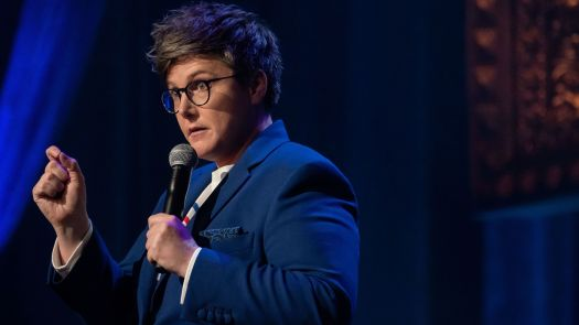 """In many ways I appear very good at being social,"" says comic Hannah Gadsby. ""But it"