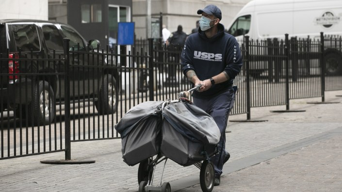The U.S. Postal Service faces challenges as more voters turn to mail in ballots during the coronavirus pandemic.