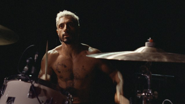 Riz Ahmed plays plays a drummer who goes deaf in Sound of Metal.