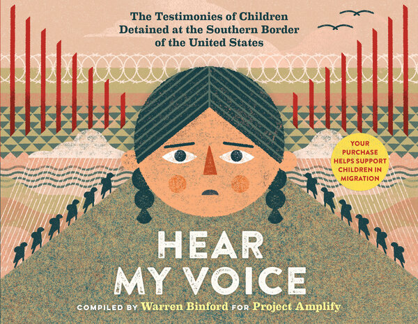 Hear My Voice cover. The book was also published in Spanish as Escucha Mi Voz.