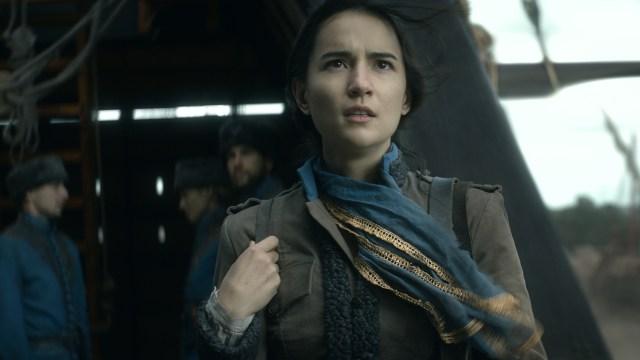 Cartographer Alina (Jessie Mei Li) maps her own fate in Netflix