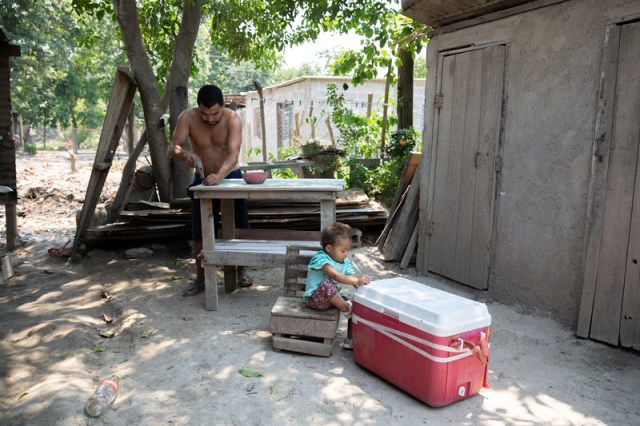 Adan Ramos has spent the weeks since coming back to the ruined home rebuilding and salvaging anything he could. After the twin hurricanes of Eta and Iota, the Ramos family was left with nothing.
