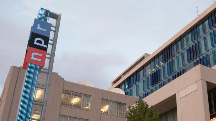 Washington, DC'deki NPR merkezi
