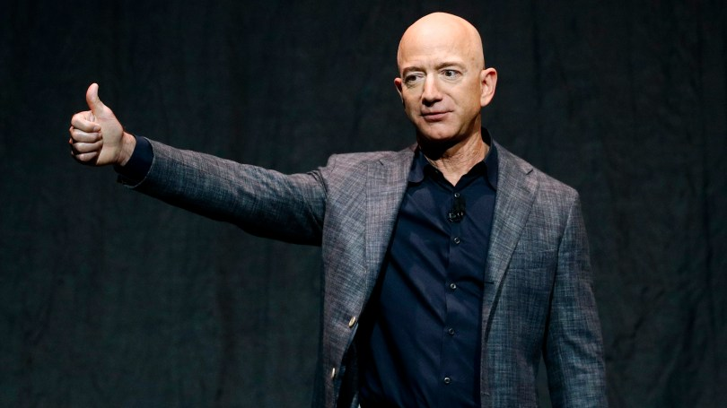 Jeff Bezos, his brother Mark, one paying auction winner and another unnamed person will board a Blue Origin rocket bound for space on July 20.