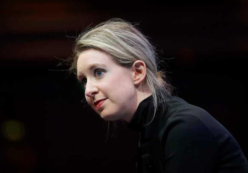 Elizabeth Holmes plans to charge ex-boyfriend with abuse at trial : NPR