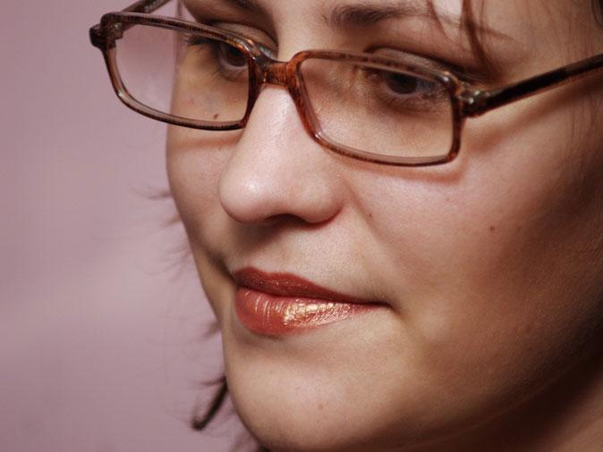 Darya Knigina, journalist in Saratov, Russia