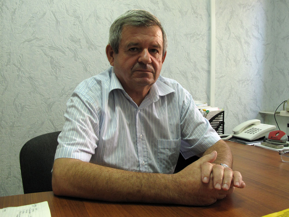 Vladimir Karpenko, an official with the Astrakhan Fish Control Agency