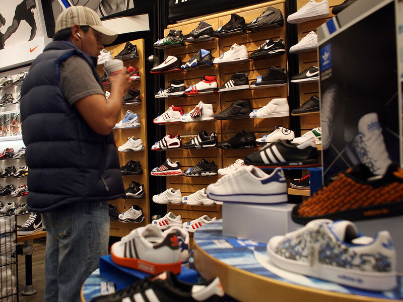 Image result for men shopping for sneakers