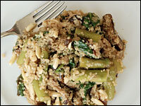 Garlice-toasted quinoa with vegetables