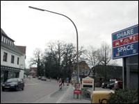 A street in Bohmte, Germany