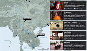 Interactive: A River And A Region Transformed