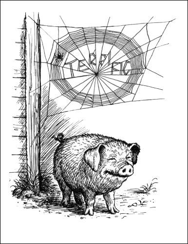 The eNotes Blog: Some Pig, Some Book: Charlotte's Web Turns 60