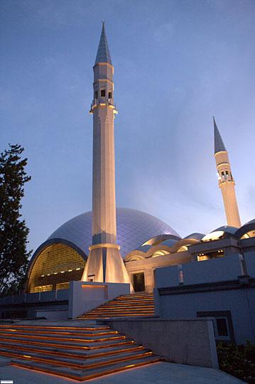 Sakirin Mosque minaret