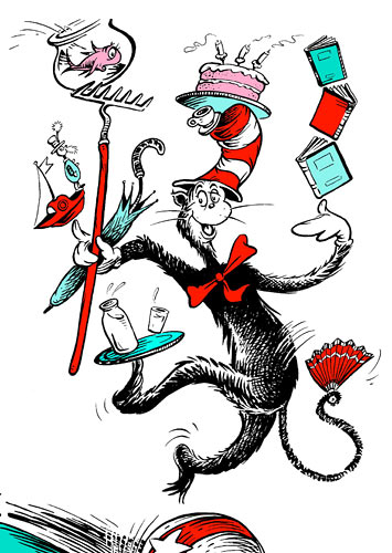 Paris has added the Cat in The Hat to his beloved list of cats.