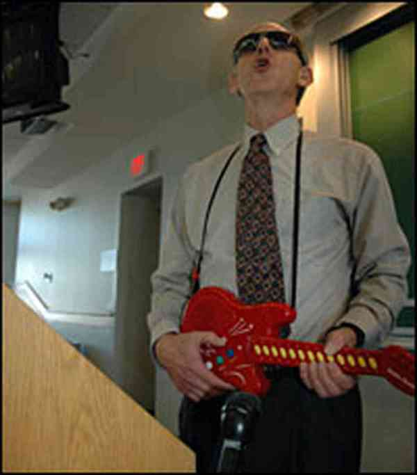 Singing Law Professor Rocks the Classroom : NPR