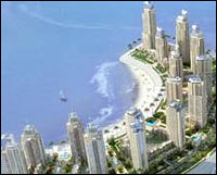 Karachi's Crescent Bay development will feature 45 residential and commercial towers.